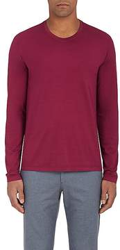 Loro Piana Men's Cotton Jersey Long-Sleeve T-Shirt