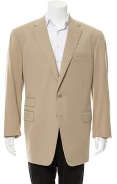 Ralph Lauren Purple Label Wool Three-Button Blazer