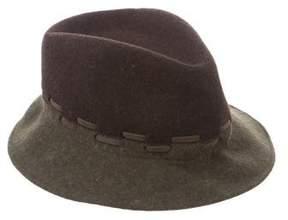 Etro Woven Fedora Hat