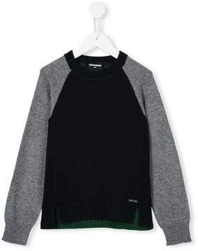 DSQUARED2 contrast panel jumper