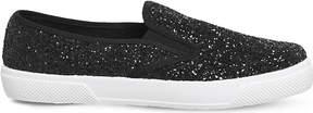 Office Kicker glitter-embossed skate shoes