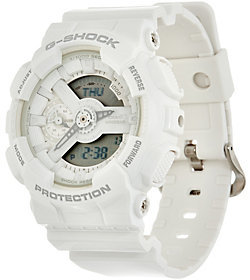 Casio G-Shock Women's Analog Digital White on White Resin Watch