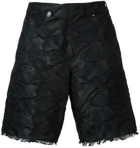 A.F.Vandevorst crumpled shorts