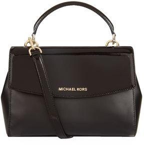 Michael Kors Small Ava Satchel - BLACK - STYLE