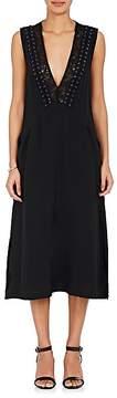 A.L.C. Women's Araya Silk Crepe Midi-Dress
