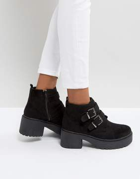 Park Lane Chunky Sole Buckle Boots