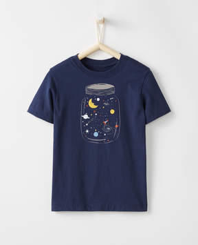 Hanna Andersson Art Tee In Supersoft Jersey