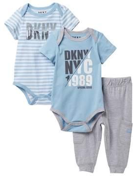 DKNY NYC 1989 Jogger Set (Baby Boys 0-9M)