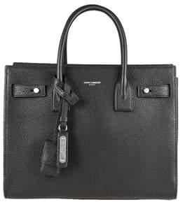 Saint Laurent Women's Black Leather Handbag. - BLACK - STYLE