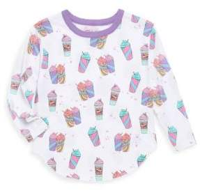 Chaser Toddler's & Little Girl's Drinkee Vintage Jersey Tee