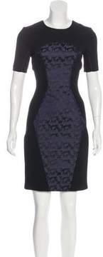 Matthew Williamson Silk Knee-Length Dress