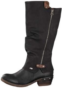 Rieker Black Tall Boots