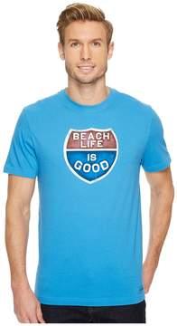 Life is Good Beach Men's T Shirt