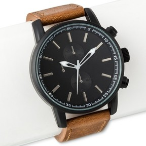 Mossimo Men's Strap Watch Black
