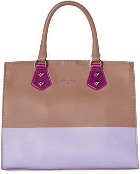 Patrizia Pepe Borsa Two-Tone Top Handle Bag
