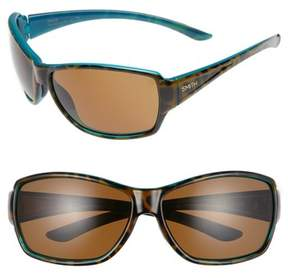 Smith Women's 'Pace' 65Mm Chromapop(TM) Polarized Sunglasses - Tortoise Marine