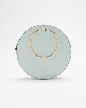 Express O-Ring Handle Circle Crossbody Bag