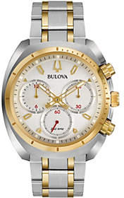 Bulova Men's CURV Two-Tone Chronograph Watch
