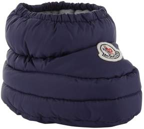Moncler Quilted Logo Booties