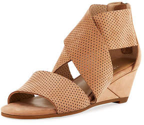 Eileen Fisher Kes 2 Perforated Wedge Sandal