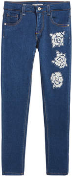 GUESS Floral-Print Jeans, Big Girls (7-16)