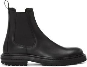 Burberry Black Farnell Chelsea Boots