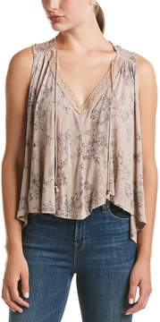 Anama Draped Split Back Tank