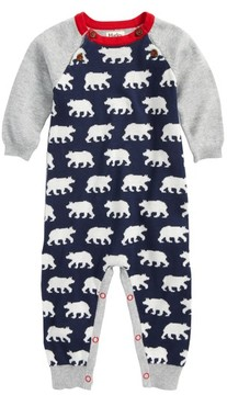 Hatley Infant Boy's Polar Bear Sweater Knit Romper