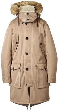 Banana Republic Heritage Water-Repellent Parka with Removable Hood