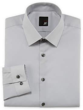 Jf J.Ferrar JF Easy-Care Solid Dress Shirt - Slim Fit