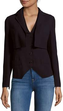 Akris Women's Button-Front Popover Jacket