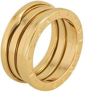 Bvlgari B Zero 18kt Yellow Gold Ring - Size