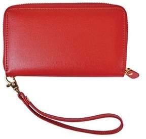 Royce Leather Women's Saffiano Slim Cellphone Wallet.