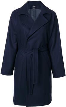A.P.C. tie waist coat