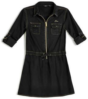 GUESS Denim Zip Dress ( 7-16)