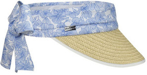 Betmar Women's Cannes Braided Sun Visor
