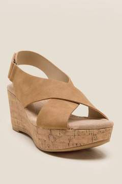 Laundry by Shelli Segal Cl By CL by Audrine Wedge - Tan