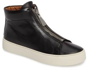 Frye Women's Lena Zip High Top Sneaker