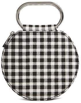 Forever 21 Round Gingham Clutch