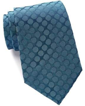 Kenneth Cole Reaction Veloutine Silk Dot Tie