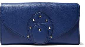 See by Chloe Stud-Embellished Textured-Leather Wallet
