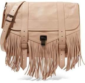 Proenza Schouler The Ps1 Medium Fringed Leather Shoulder Bag