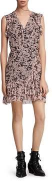 AllSaints Priya Petal Wrap Dress