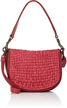 Campomaggi CAMPOMAGGI WOMEN'S WOVEN SADDLE BAG