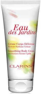 Clarins Eau des Jardins Smoothing Body Cream, 6.9 oz