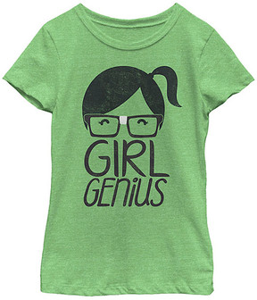 Fifth Sun Green Apple 'Girl Genius' Crewneck Tee - Girls