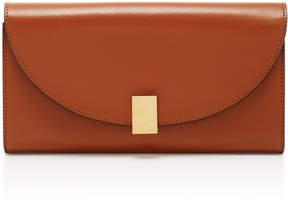 Victoria Beckham Half Moon Leather Wallet