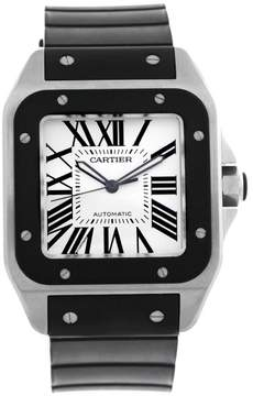 Cartier Santos 100 W20121U2 Stainless Steel Automatic 38mm Mens Watch