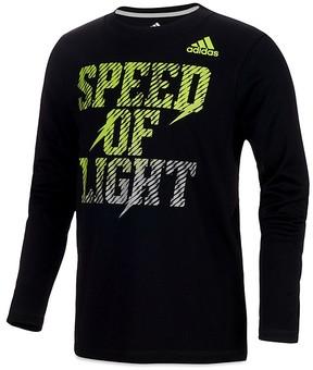 Adidas Boys' Speed of Light Long-Sleeve Tee - Little Kid