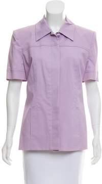 Celine Structured Short Sleeve Jacket